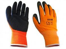 Scan SCAGLOLATOL Foam Latex Coated Glove Orange