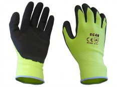 Scan SCAGLOLATYL Foam Latex Coated Glove