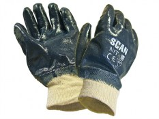 Scan SCAGLONIT Nitrile Knitwrist Heavy-Duty Gloves