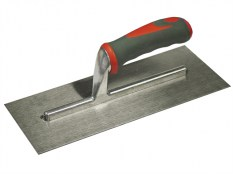 Faithfull FAISGTP11SS Plasterers Trowel Stainless Steel Soft Grip Handle