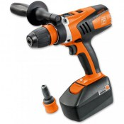Fein ASCM 18V 4.0A Industrial Cordless Drill w/NEW 4-Speed Gearbox + Extra Battery