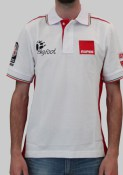 Rupes 9.Z904/4XL BIGFOOT POLO RACING WHITE/RED (4EXTRALARGE)   POA