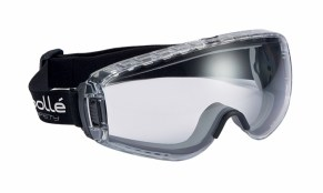 Bolle VIT332102 Pilot Safety Goggles Clear