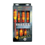 E-Formula 6pc Elec. Screwdriver Set +LIFETIME WARRANTY