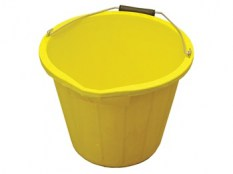 3 Gallon 15 litre Bucket - Yellow FAI3GBUCKYEL