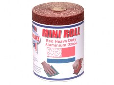 Faithfull Alox paper roll red HD 115mm x 50m 60G FAIAR11560R