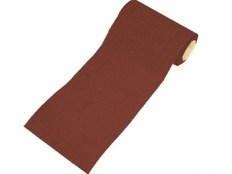 115mm Red Aluminium Oxide Rolls Hook & Loop FAIARHL1