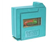 Battery Tester for AA, AAA, C, D & 9V FAIDETBAT