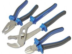Chrome Vanadium Soft Grip Pliers Set of 3 FAIPLSET3