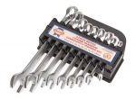 Faithfull Combination Spanner Set +5 YEAR WARRANTY FAISCOMBSET