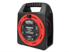 Faithfull FPPCR20MER Easy Reel Cable Reel 240 Volt