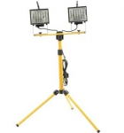 Faithfull Stand Site Light 1000W - Twin Lamp FPPSL1000CT
