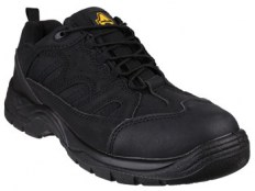 Amblers FS214 Black Trainer Shoe