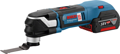 Bosch Cordless Multi-Cutter 06018B6001 GOP 18 V-28 + AIZ 32APB (Body Only)