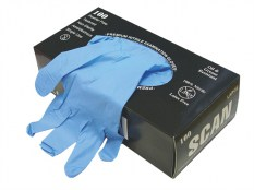 Scan Nitrile Gloves SCAGLONITLGE