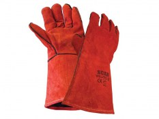 Scan Welder's Gauntlet  Red