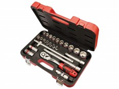FAI/FULL Socket Set 24PC Metric 1/2IN SQDR FAISOC1224M