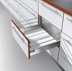 Blum 500D GREY, Tandembox Kit 'D' Height (205mm)