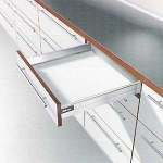 Blum 500D GREY, Tandembox Kit 'M' Height (84mm)