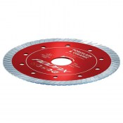 Addax TP115222 Thin Turbo Diamond Disc Blade Porcelain And Ceramic 115mm
