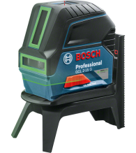 Bosch Combi GREEN Laser GCL 2-15 G + ceiling clip + carrying case